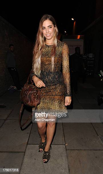 Amber Le Bon sighting at the BMW i3 party Old Billingsgate on July 29 2013 in London England
