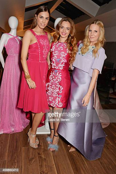 Amber Le Bon Toujouri Creative Director Lama El Moatassem and Alice Naylor Leyland attend as evening wear label TOUJOURI presents their SS15...