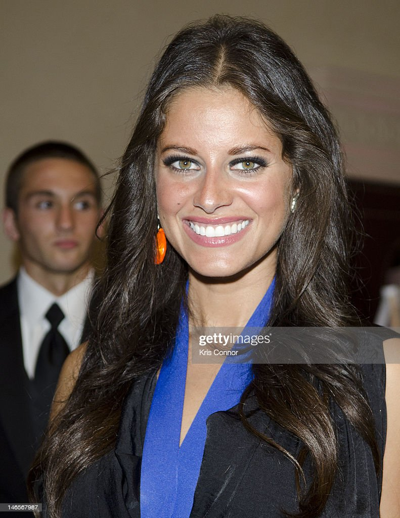 Amber Lynn Coffman poses for a photo during the 40th Annual Jefferson Awards on June 19, 2012 in Washington, United States.