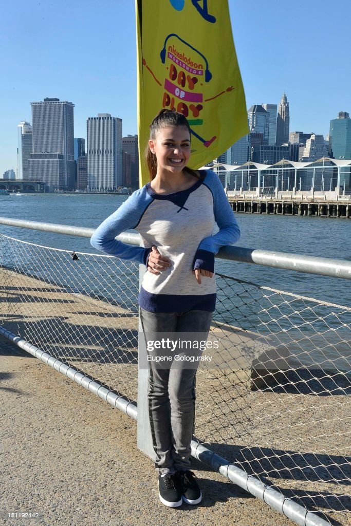 Amber Montana attends the Nickelodeon And Brooklyn Bridge Park Host Mini-Triathlon on September 19, 2013 in New York City.