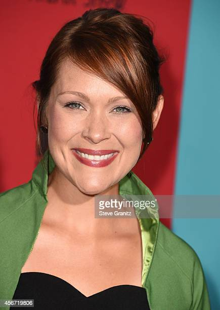 Amber Nash arrives at the 'American Horror Story Freak Show' Los Angeles Premiere at TCL Chinese Theatre IMAX on October 5 2014 in Hollywood...