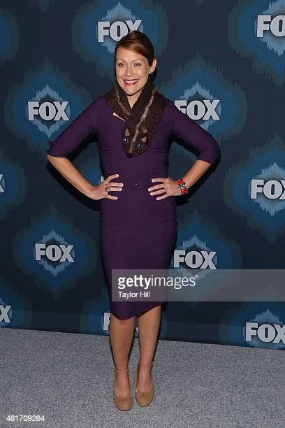 Amber Nash attends the 2015 Fox AllStar Party at Langham Hotel on January 17 2015 in Pasadena California