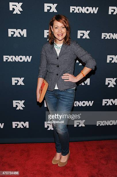 Amber Nash attends the 2015 FX Bowling Party at Lucky Strike on April 22 2015 in New York City