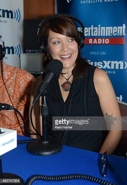 Amber Nash is interviewed on SiriusXM's Entertainment Weekly Radio channel from ComicCon 2014 at The Hard Rock Hotel on July 26 2014 in San Diego...