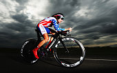 Amber Neben of the USA in action in the Elite Women's Individual Time Trial on day three of the UCI Road World Championships on September 18 2012 in...