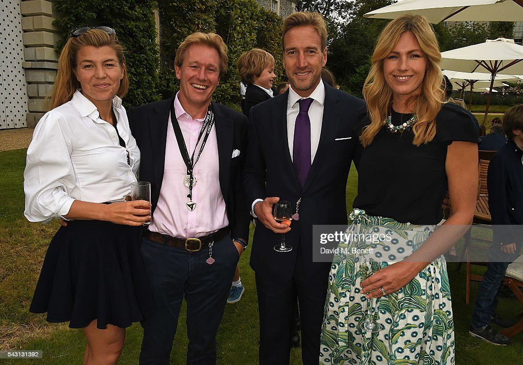 Amber Nuttall, Alistair Gosling, <a gi-track='captionPersonalityLinkClicked' href=/galleries/search?phrase=Ben+Fogle&family=editorial&specificpeople=216039 ng-click='$event.stopPropagation()'>Ben Fogle</a> and Marina Fogle attend The Cartier Style et Luxe at the Goodwood Festival of Speed at Goodwood on June 26, 2016 in Chichester, England.