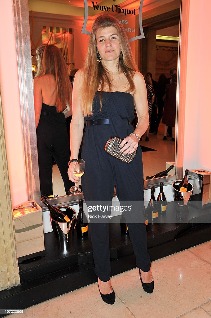 Amber Nuttall attends the Veuve Clicquot Business Woman of the Year award at Claridges Hotel on April 22, 2013 in London, England.