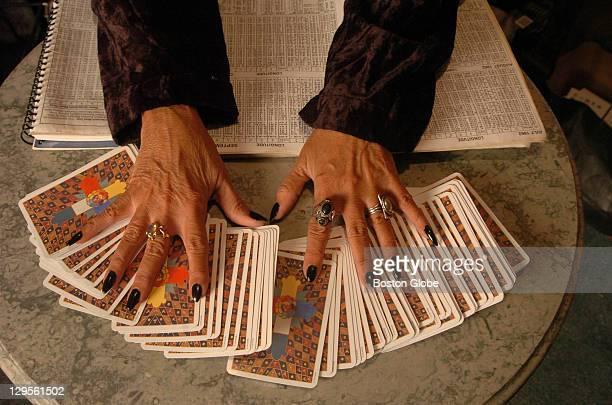 Amber of Salem Salem's premier astrologer deals tarot cards at Crow Haven Corner in Salem Mass Often called Witch City Salem is gearing up for the...