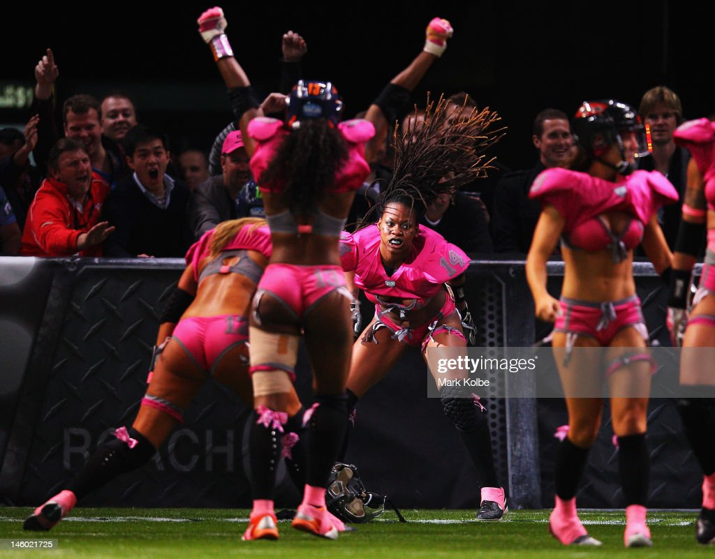 Lingerie football league tour at allphones arena on june 9 2012 in