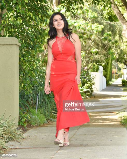 Amber Romero attends Celebrity Stylist Ali Levine Dresses Today's Influencers For Prom/Spring Fling Event at Pistol Stamen on April 13 2017 in Los...