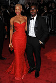 Amber Rose and musician Kanye West attend 'The Model as Muse Embodying Fashion' Costume Institute Gala at The Metropolitan Museum of Art on May 4...
