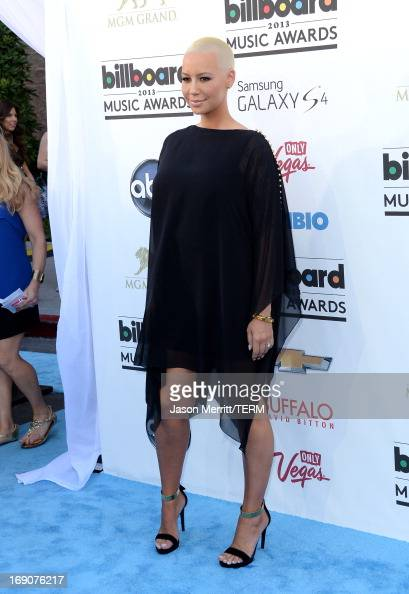 Amber Rose arrives at the 2013 Billboard Music Awards at the MGM Grand Garden Arena on May 19 2013 in Las Vegas Nevada