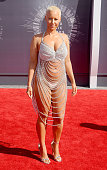 Amber Rose arrives at the 2014 MTV Video Music Awards at The Forum on August 24 2014 in Inglewood California
