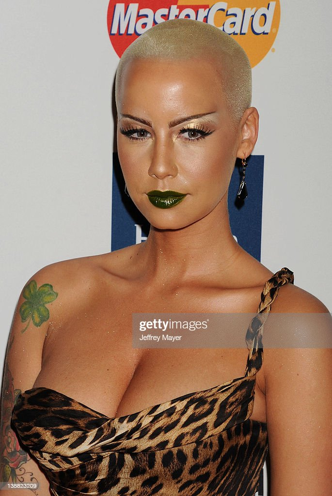 <a gi-track='captionPersonalityLinkClicked' href=/galleries/search?phrase=Amber+Rose+-+Model&family=editorial&specificpeople=2025513 ng-click='$event.stopPropagation()'>Amber Rose</a> arrives at the Clive Davis and The Recording Academy's 2012 Pre-GRAMMY Gala and Salute to Industry Icons Honoring Richard Branson at The Beverly Hilton hotel on February 11, 2012 in Beverly Hills, California.