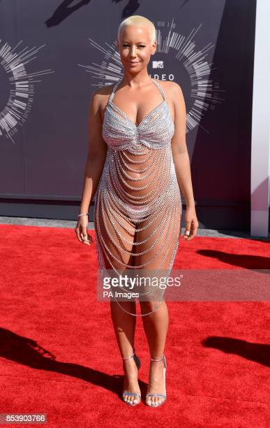 Amber Rose arriving at the MTV Video Music Awards 2014 at The Forum in Inglewood Los Angeles