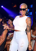 Amber Rose at The Highlands NYC on August 16 2015 in New York City