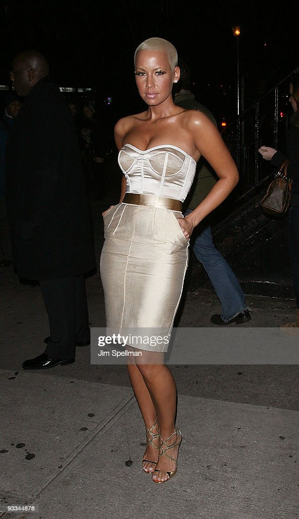 <a gi-track='captionPersonalityLinkClicked' href=/galleries/search?phrase=Amber+Rose+-+Model&family=editorial&specificpeople=2025513 ng-click='$event.stopPropagation()'>Amber Rose</a> attends The Cinema Society with Screenvision & Brooks Brothers screening of 'Me And Orson Welles' at Clearview Chelsea Cinemas on November 23, 2009 in New York City.