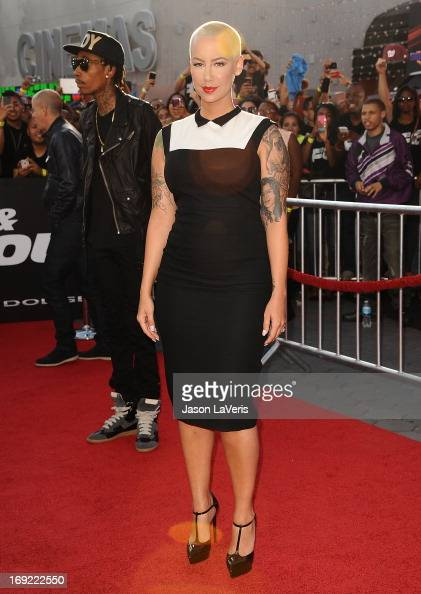 Amber Rose attends the premiere of 'Fast Furious 6' at Universal CityWalk on May 21 2013 in Universal City California
