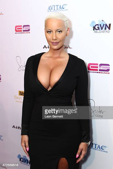 Amber Rose attends the 'Sister Code' Los Angeles Premiere at Universal Studios AMC on May 7 2015 in Universal City California