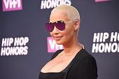 Amber Rose attends the VH1 Hip Hop Honors All Hail The Queens at David Geffen Hall on July 11 2016 in New York City
