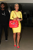 Amber Rose seen at LAX on May 04 2015 in Los Angeles California