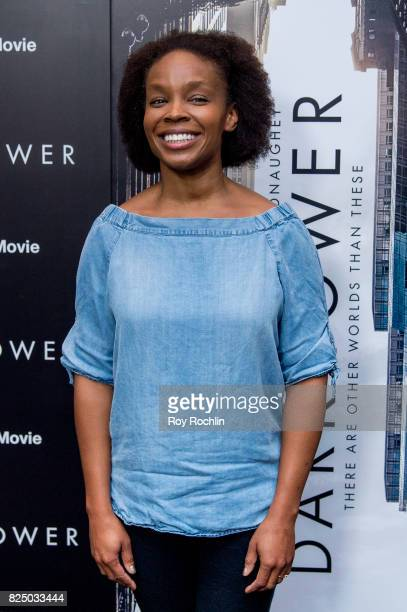Amber Ruffin attends 'The Dark Tower' New York premiere on July 31 2017 in New York City