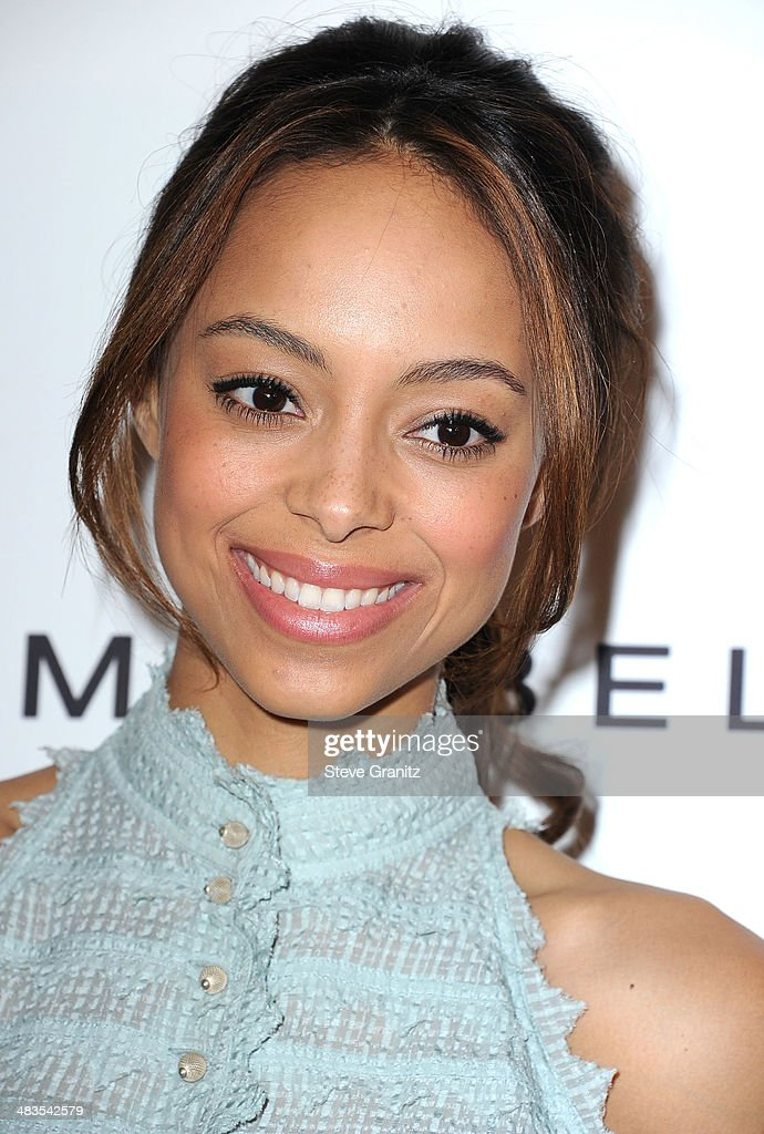<a gi-track='captionPersonalityLinkClicked' href=/galleries/search?phrase=Amber+Stevens&family=editorial&specificpeople=4152761 ng-click='$event.stopPropagation()'>Amber Stevens</a> arrives at the Marie Claire's Fresh Faces Party at Soho House on April 8, 2014 in West Hollywood, California.