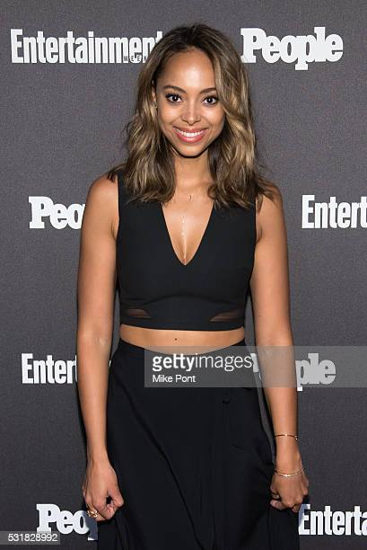 Amber Stevens West attends the 2016 Entertainment Weekly People New York Upfront at Cedar Lake on May 16 2016 in New York New York
