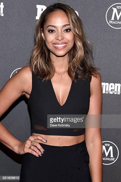 Amber Stevens West attends the Entertainment Weekly People Upfronts party 2016 at Cedar Lake on May 16 2016 in New York City