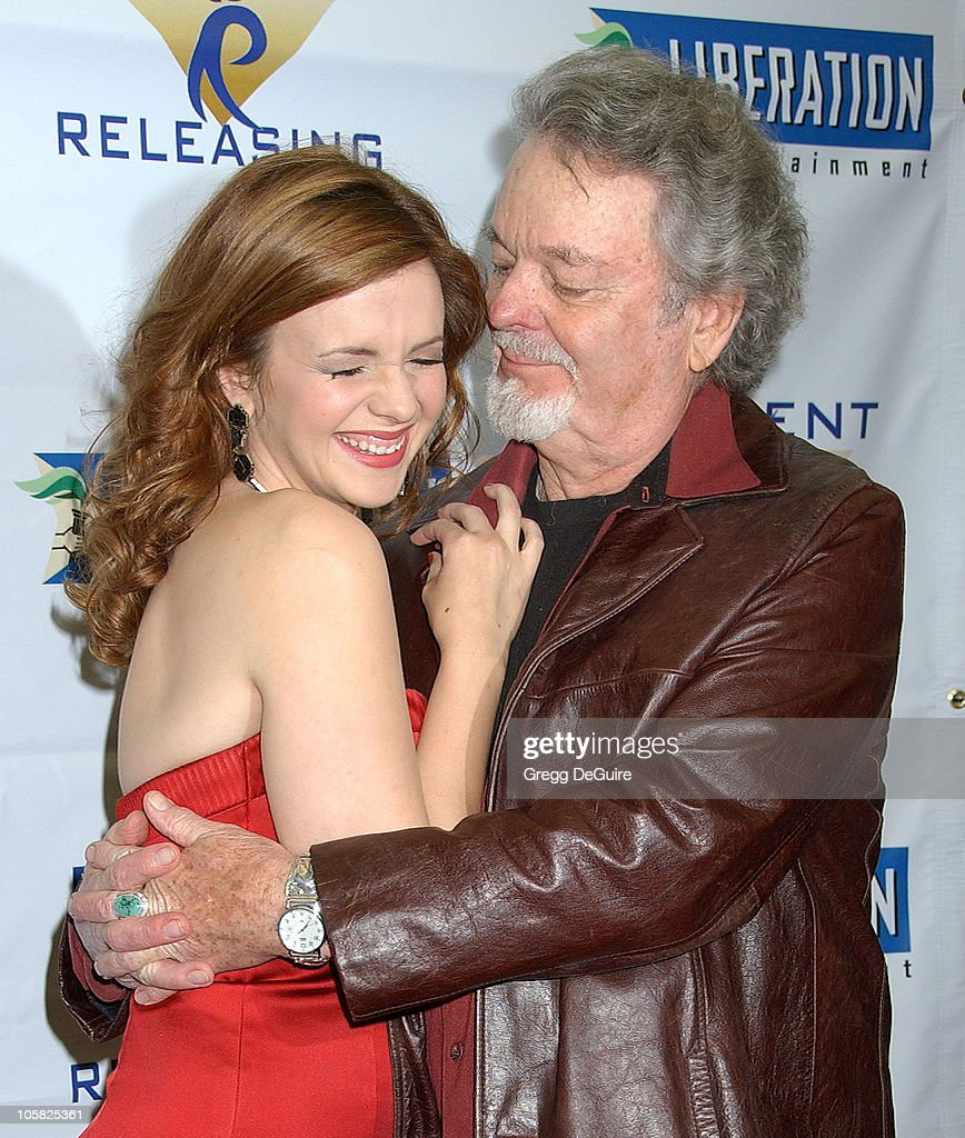 Amber Tamblyn and dad Russ Tamblyn during 'Stephanie Daley' Los Angeles Screening - Arrivals at Regent Showcase Theatre in Hollywood, California, United States.