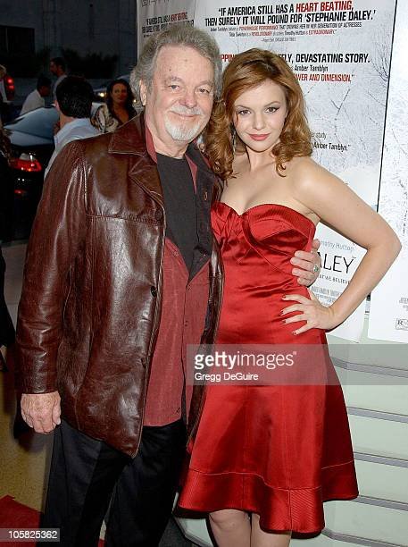 Amber Tamblyn and dad Russ Tamblyn during 'Stephanie Daley' Los Angeles Screening Arrivals at Regent Showcase Theatre in Hollywood California United...