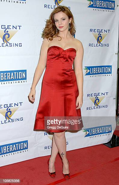 Amber Tamblyn during 'Stephanie Daley' Los Angeles Screening Arrivals at Regent Showcase Theatre in Hollywood California United States