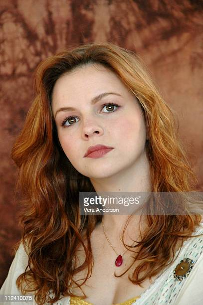 Amber Tamblyn during 'Stephanie Daley' Press Conference with Amber Tamblyn and Russ Tamblyn in West Hollywood California United States