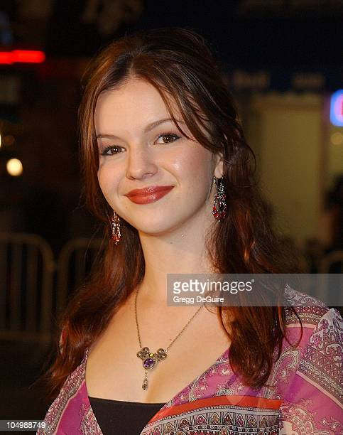 Amber Tamblyn during 'The Ring' Premiere at Mann Bruin Theatre in Westwood California United States