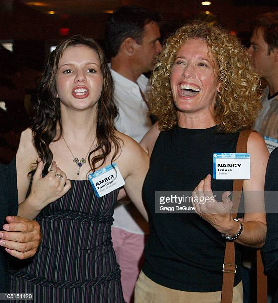 Amber Tamblyn of 'Joan of Arcadia' Nancy Travis of 'Becker'
