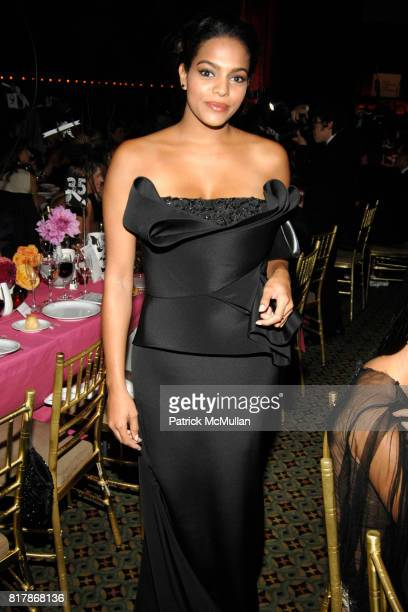 Amber Tolliver attends NEW YORKERS FOR CHILDREN 2010 Fall Gala at Cipriani 42 on September 21 2010 in New York City