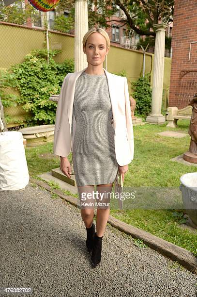 Amber Valetta attends the Stella McCartney Spring 2016 Resort Presentation on June 8 2015 in New York City