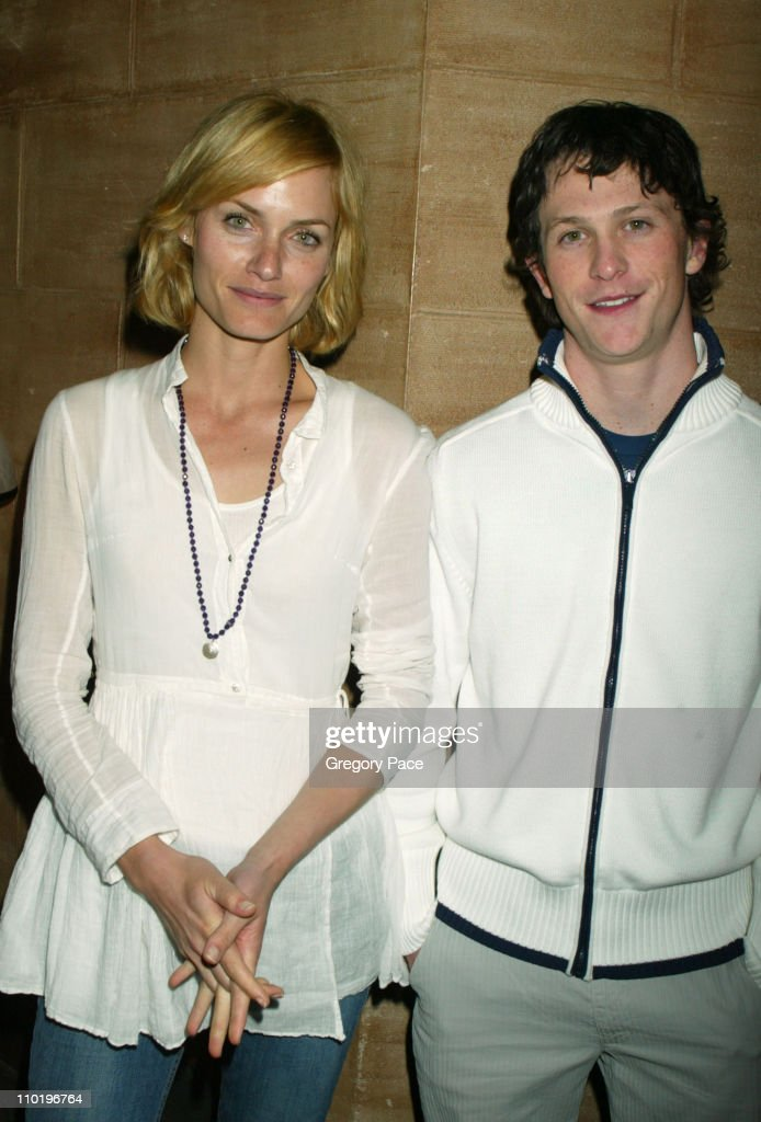 Amber Valletta and Jonathan Tucker star of the film *Exclusive*