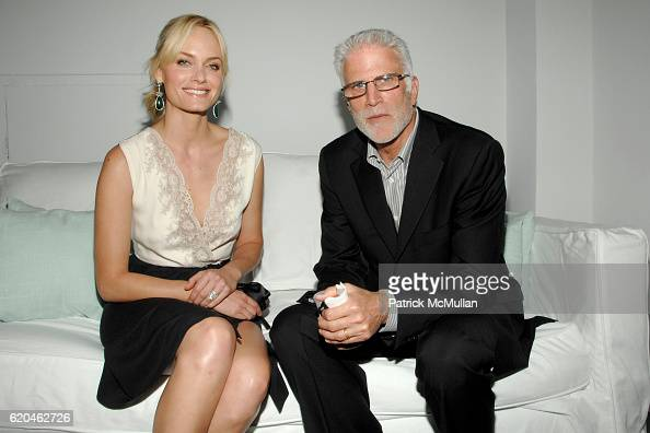 Amber Valletta and Ted Danson attend LA MER and OCEANA Party for WORLD OCEAN DAY 2008 at 620 Loft Garden on June 4 2008 in New York City