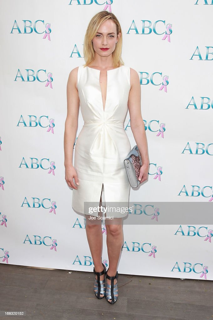 Amber Valletta arrives at ABC's Mother's Day luncheon at Four Seasons hotel Los Angeles at Beverly Hills on May 8, 2013 in Beverly Hills, California.
