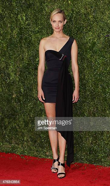 Amber Valletta attends American Theatre Wing's 69th Annual Tony Awards at Radio City Music Hall on June 7 2015 in New York City