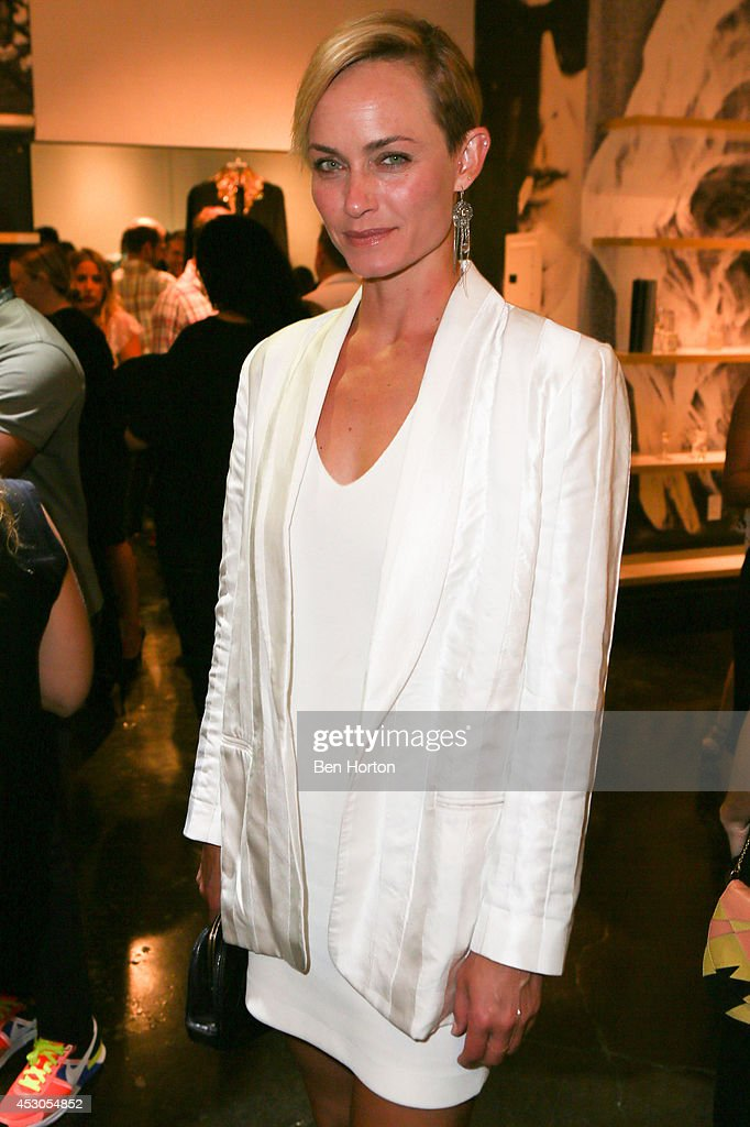 <a gi-track='captionPersonalityLinkClicked' href=/galleries/search?phrase=Amber+Valletta&family=editorial&specificpeople=206940 ng-click='$event.stopPropagation()'>Amber Valletta</a> attends Nicole Richie, Eric Buterbaugh and Nevena Borissova host Ryan Korban's 'Luxury Redefined' on August 1, 2014 in Los Angeles, California.