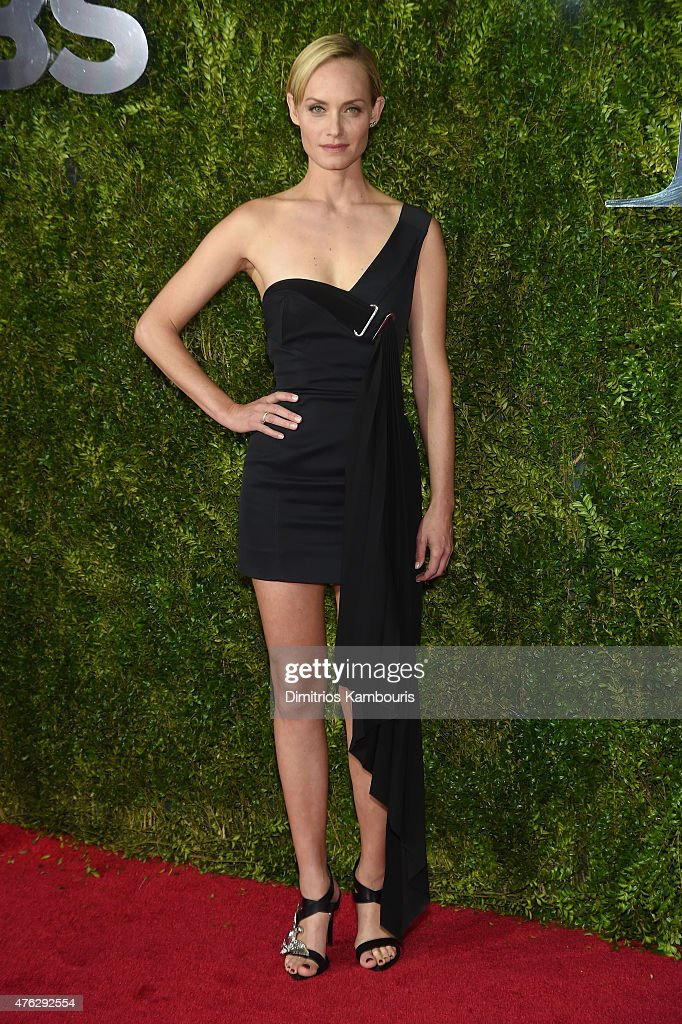 Amber Valletta attends the 2015 Tony Awards at Radio City Music Hall on June 7 2015 in New York City