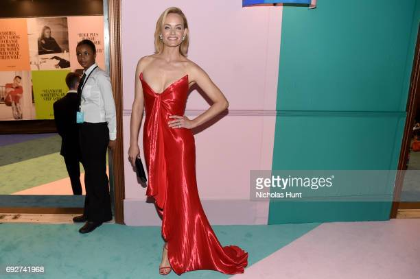 Amber Valletta attends the 2017 CFDA Fashion Awards at Hammerstein Ballroom on June 5 2017 in New York City