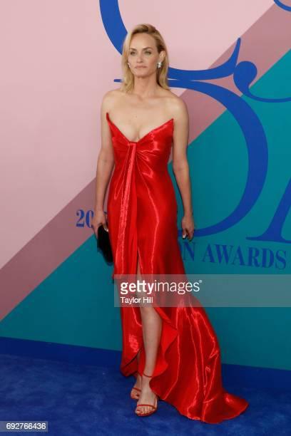 Amber Valletta attends the 2017 CFDA Fashion Awards at Hammerstein Ballroom on June 5 2017 in New York City