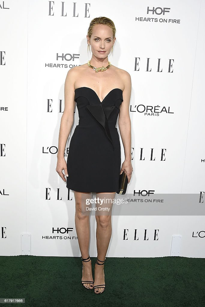 Amber Valletta attends the 23rd Annual ELLE Women In Hollywood Awards - Arrivals at The Four Seasons Hotel on October 24, 2016 in Beverly Hills, California.