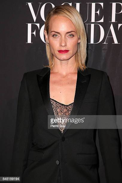 Amber Valletta attends the Vogue Foundation Gala 2016 at Palais Galliera on July 5 2016 in Paris France