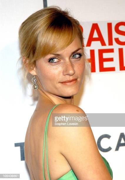 Amber Valletta during 3rd Annual Tribeca Film Festival 'Raising Helen' Premiere at Tribeca Performing Arts Center in New York City New York United...