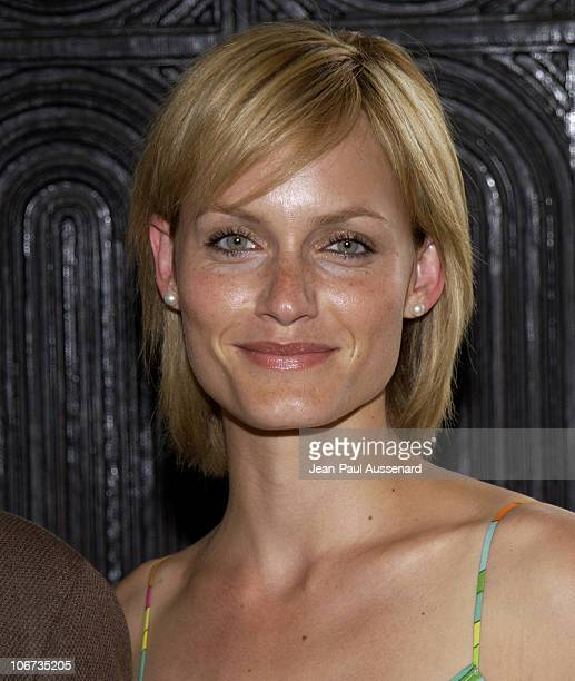 Amber Valletta during Amber Valetta Hosts Fall Fashion Show for Fundraiser to Benefit Friendly House CLARE Foundation at Private residence in Beverly...