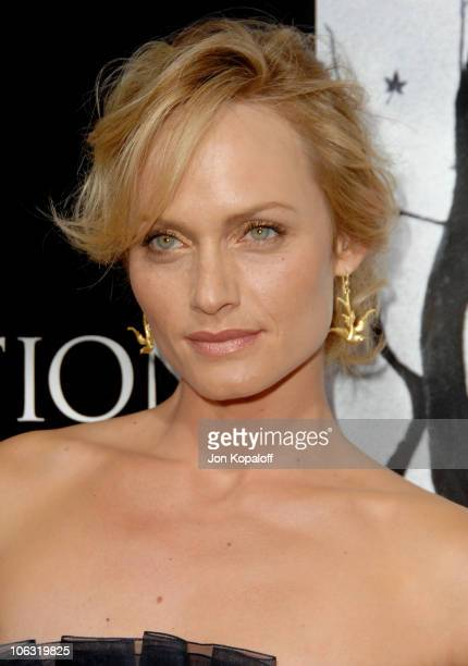 Amber Valletta during 'Premonition' Los Angeles Premiere Arrivals at Cinerama Dome in Hollywood California United States